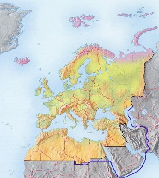 Västpalearktiskarta