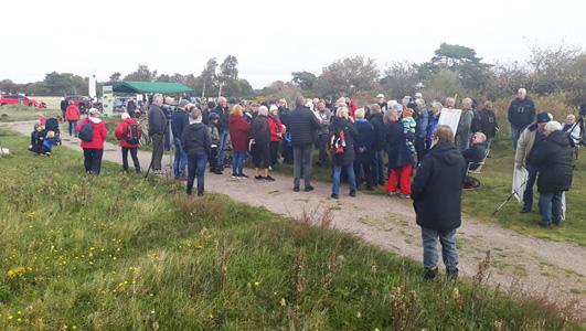 Fågelfesten i Grötvik. Foto: Benny Ahlnér