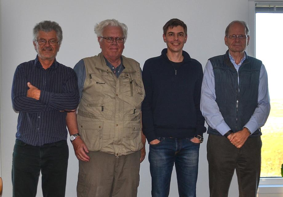Gruppfoto taxonomikommittén - 2017