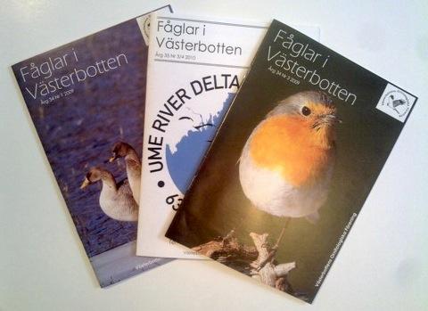 Fåglar i Västerbotten